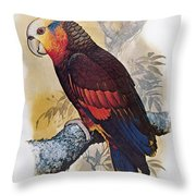 St Vincent Amazon Parrot Throw Pillow