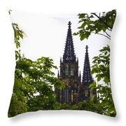 St Vitus Cathedral - Prague Throw Pillow