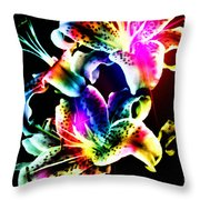 Stack Of Stargazers Dreaming Throw Pillow