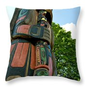 Staff In Hand Throw Pillow