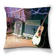 Stage Set Throw Pillow