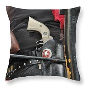 Stagecoach Guard Throw Pillow