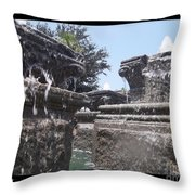 Staggered Tiers Throw Pillow