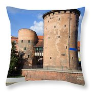 Stagiewna Gate Gothic Tower Throw Pillow