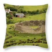 Staigue Fort, Kerry Throw Pillow