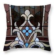 Stained Glass Lc 03 Throw Pillow