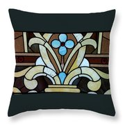Stained Glass Lc 04 Throw Pillow