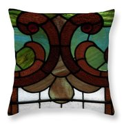 Stained Glass Lc 08 Throw Pillow