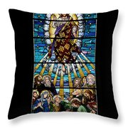 Stained Glass Pc 01 Throw Pillow