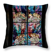Stained Glass Pc 05 Throw Pillow