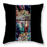 Stained Glass Pc 06 Throw Pillow