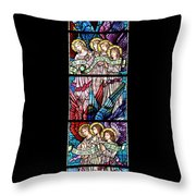 Stained Glass Pc 07 Throw Pillow