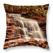 Stairs Falls Throw Pillow