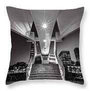 Stairs Of Art Throw Pillow
