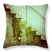 Stairs On A Rainy Day II Throw Pillow