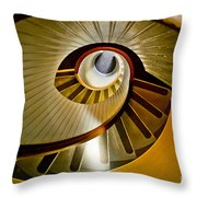 Stairs Stares Throw Pillow