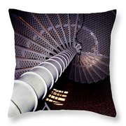 Stairs To The Light Throw Pillow by Skip Willits