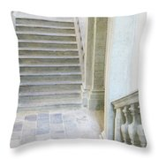 Stairway In Radovlica Throw Pillow