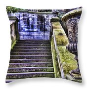 Stairway In Time Throw Pillow
