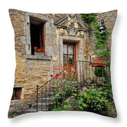 Stairway Provence France Throw Pillow