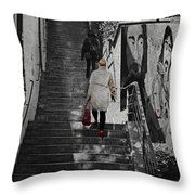 Stairway To.. Throw Pillow