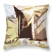 Stairway To Heaven Abstract Throw Pillow