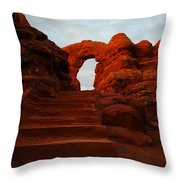 Stairwell To The Gods  Throw Pillow