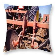 Stalk-puller Throw Pillow
