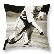 Stan Coveleski (1889-1984) Throw Pillow