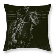 Stand Out Glowing Duo Throw Pillow