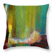 Standing In The Gap Throw Pillow