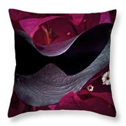 Standing Out Throw Pillow by Gwyn Newcombe