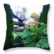 Stanley Park Pavilion Throw Pillow