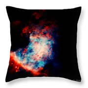 Star Birth Throw Pillow