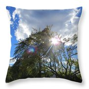 Star Called Helios Throw Pillow