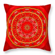 Star Cookie Art Throw Pillow