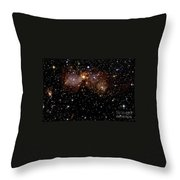 Star Forming Regions Throw Pillow