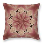 Star Magnolia Medallion 4 Throw Pillow