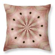Star Magnolia Medallion 5 Throw Pillow