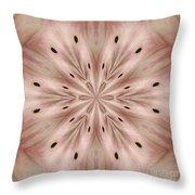 Star Magnolia Medallion 6 Throw Pillow