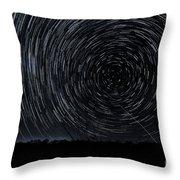 Star-nado Throw Pillow