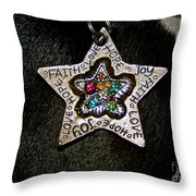 Star Of My Heart Throw Pillow