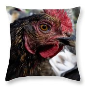 Star Of The Hen Party Throw Pillow