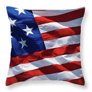 Star Spangled Banner - D001883 Throw Pillow