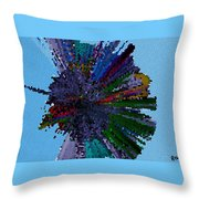 Stardust In My Eye Throw Pillow