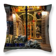 Starlet Shoes Throw Pillow