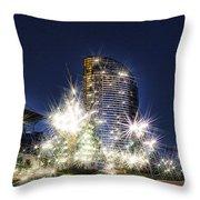 Starlight Building Throw Pillow