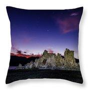 Starry Night Tufa Throw Pillow