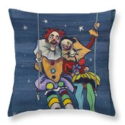 Starry Starry Night... Throw Pillow
