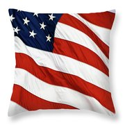 Stars And Stripes - D004586 Throw Pillow
